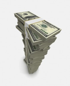 Image Of Stacks Of Money For Federal Tax Fraud Lawyer - Law Offices of Jerod Gunsberg