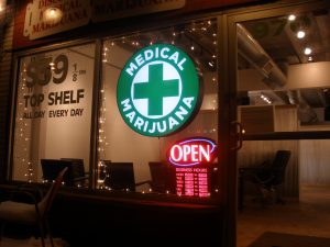 image of legal marijuana shop - Gunsberg Law